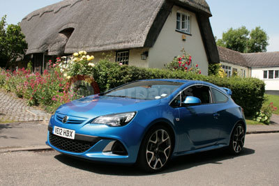 Vauxhall Astra VXR (Front Side) (2012)