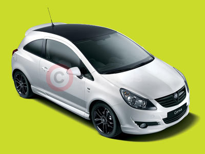 New Vauxhall Corsa Black & White Limited Edition