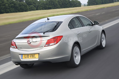 Vauxhall Insignia Rear View