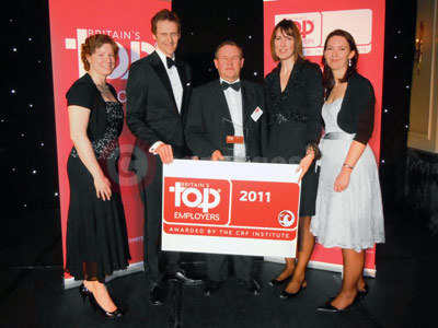 Vauxhall Staff Collect The Top Employer Award