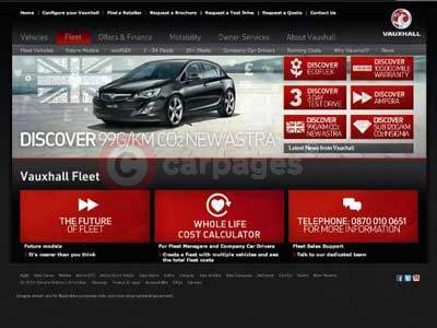Vauxhall's Whole Life Cost Calculator