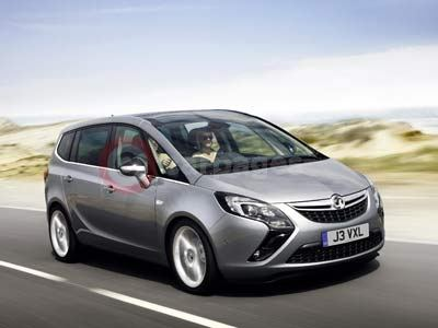 Vauxhall Confirms Production Of The Vauxhall Zafira Tourer