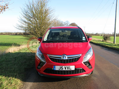Vauxhall Zafira Tourer Review (2012)