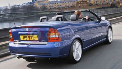 Vauxhall Astra Convertible Exclusiv