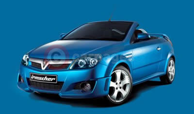Irmscher Styling For The New Vauxhall Tigra