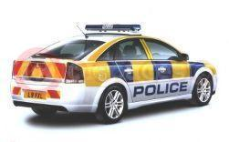 Vauxhall Vectra In Police Livery