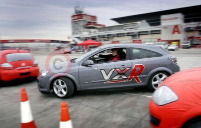 Stunt Driving Lessons At VXR Track Day