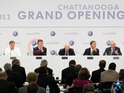 Volkswagen Chattanooga Plant Inauguration