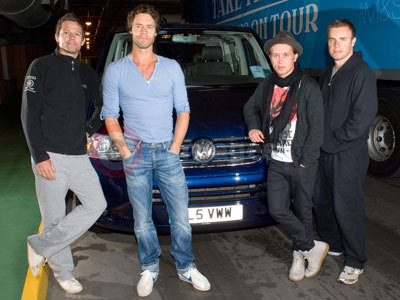 Take That With Their Volkswagen Caravelle