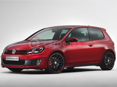 The Volkswagen Golf GTI Worthersee 09 Concept Car