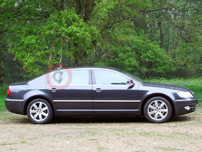 The Volkswagen Phaeton Side View