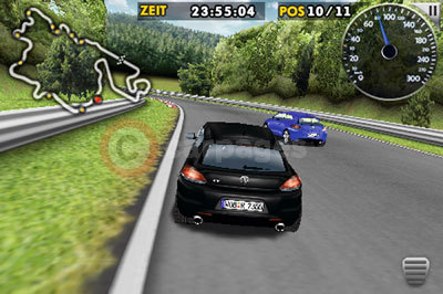 The Volkswagen Scirocco R 24 hour Challenge iPhone Game
