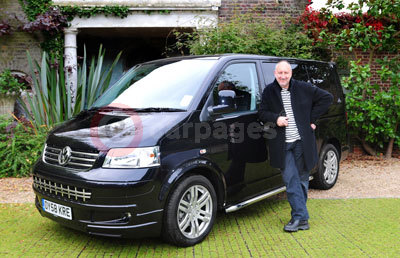 Volkswagen Transporter with Pete Townshend
