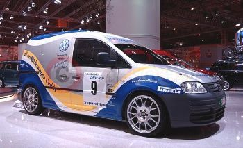 The VW Caddy Racing Van