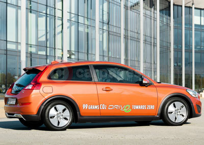 The Volvo C30 DRIVe With Start/Stop