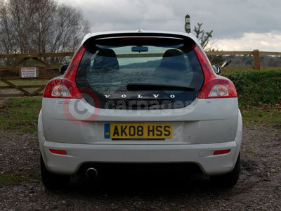 Volvo C30 Rear View