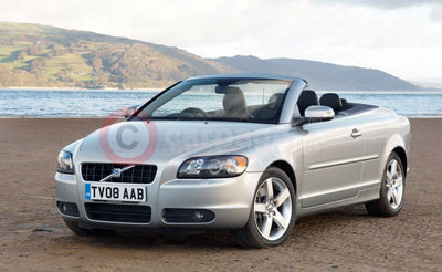 Volvo C70 Coupe Convertible Updates for 2009