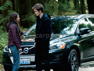 edward cullen drives a volvo xc60 in the twilight saga: eclipse