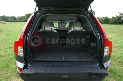 Volvo XC90 Tailgate Open