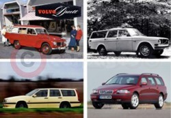 50 Years Of Volvo Estate Cars