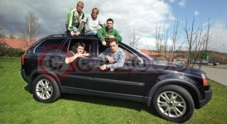 Westlife On Tour With The XC90